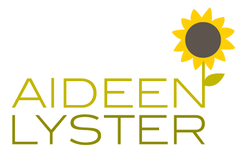 Logo for Aideen Lyster, Designed by Jacqueline Renan