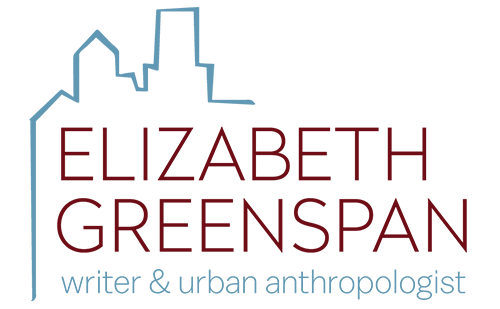 Logo for Elizabeth Greenspan, Designed by Jacqueline Renan