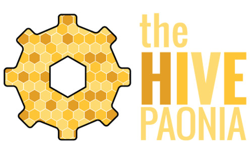 Hoppel Design logo for the Hive Paonia