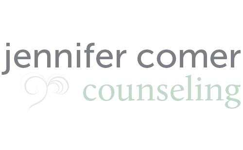 Hoppel Design logo for Jennifer Comer Counseling