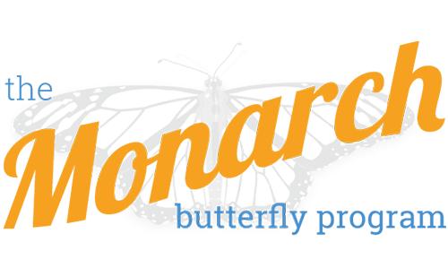 Hoppel Design logo for the Monarch Butterfly Program
