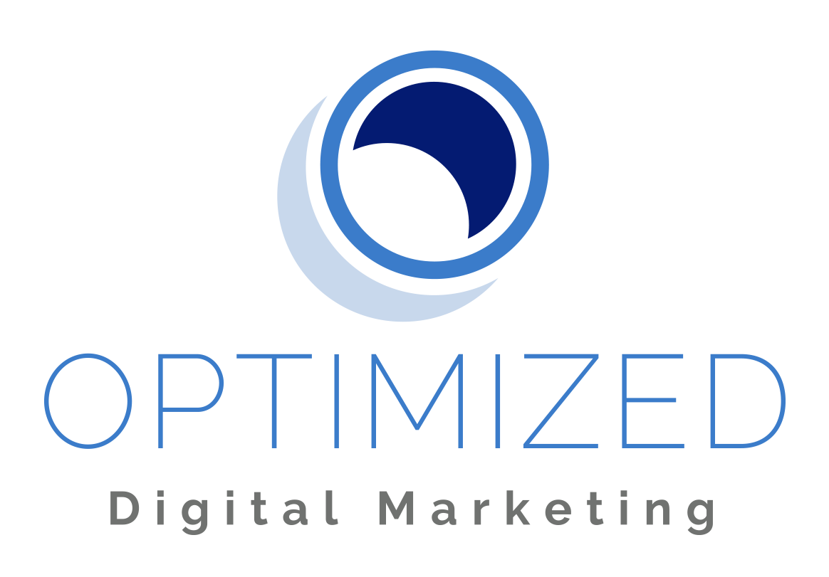 Logo for Optimized Digital Marketing, Designed by Jacqueline Renan