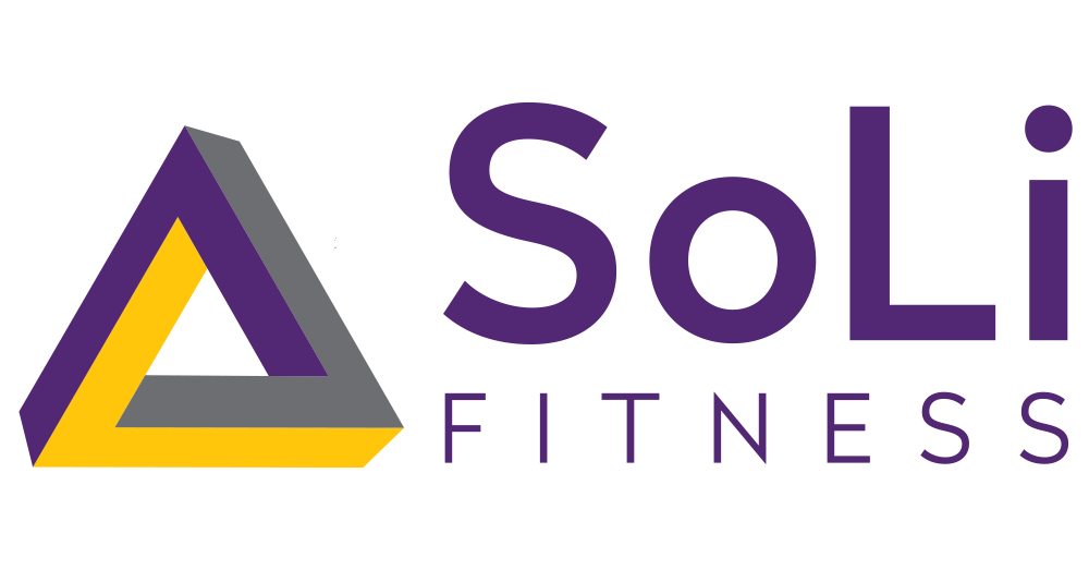 Logo for SoLi Fitness, Designed by Jacqueline Renan