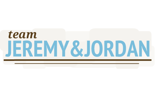 Hoppel Design logo for Team Jeremy & Jordan