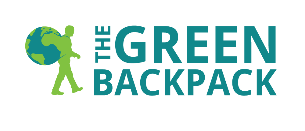 Hoppel Design logo for The Green Backpack
